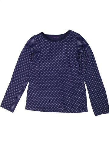 T-shirt manches longues fille NUTMEG bleu 11 ans hiver #1301077_1