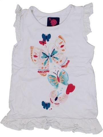 Vestido niña TU blanco 4 años verano #1301095_1