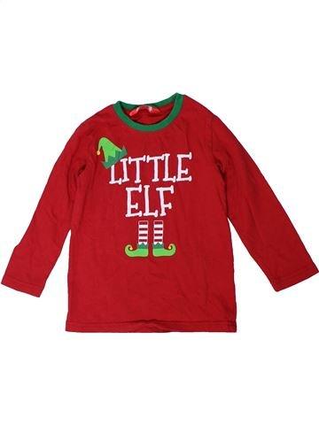 Camiseta de manga larga niño MADE BY ELVES rojo 4 años invierno #1301146_1