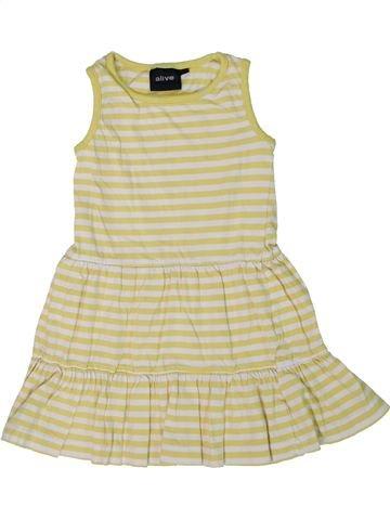 Vestido niña ALIVE beige 2 años verano #1301271_1