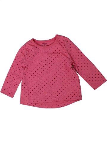 Camiseta de manga larga niña F&F rosa 6 meses invierno #1301318_1