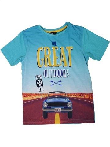 Camiseta de manga corta niño GEORGE azul 8 años verano #1301415_1