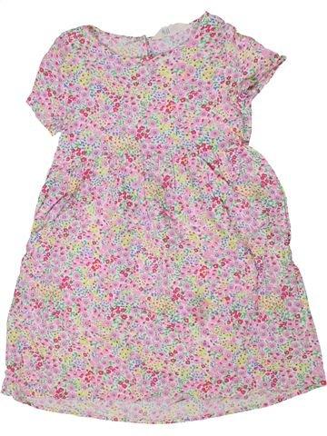 Vestido niña H&M rosa 7 años verano #1301458_1