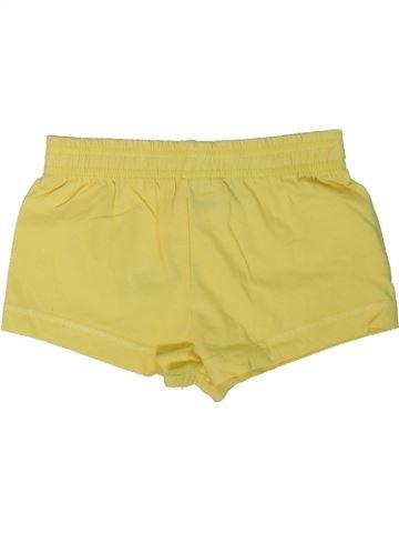 Short-Bermudas niña HARPER GIRL amarillo 2 años verano #1301522_1