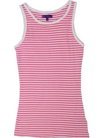 Camiseta sin mangas niña MARKS & SPENCER rosa 11 años verano #1301644_1