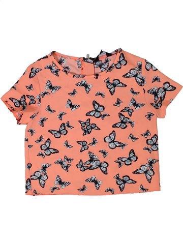 Blusa de manga corta niña NEW LOOK rosa 10 años verano #1301703_1
