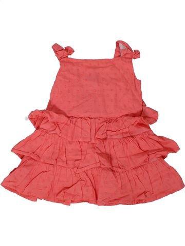 Vestido niña TU rosa 12 meses verano #1301714_1