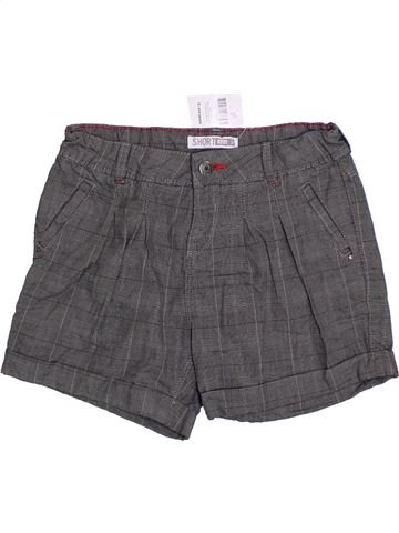 Short-Bermudas niña OKAIDI gris 12 años verano #1301728_1