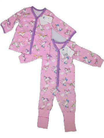 Pijama de 2 piezas niña CHICCO rosa 12 meses invierno #1301770_1
