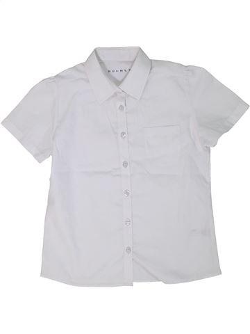 Chemise manches courtes garçon NUTMEG blanc 10 ans été #1301857_1