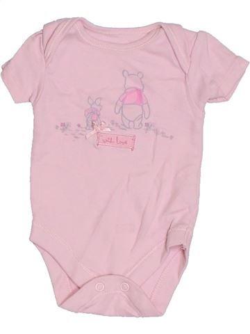Camiseta de manga corta niña GEORGE rosa 1 mes verano #1301867_1