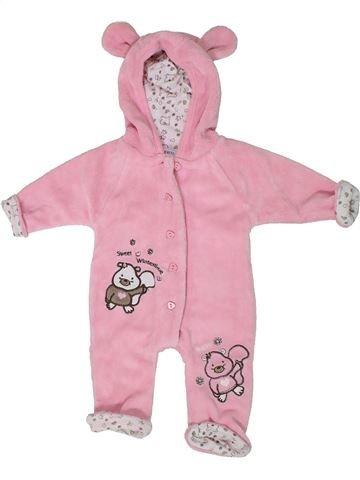 Robe de chambre fille BERTI rose naissance hiver #1301899_1