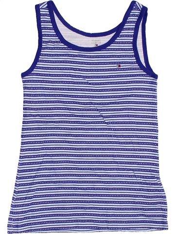 T-shirt sans manches fille TOMMY HILFIGER bleu 14 ans été #1302062_1