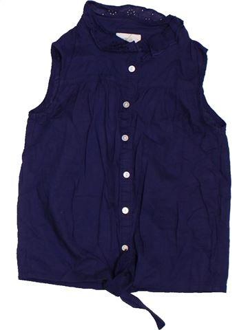 Blouse manches courtes fille H&M violet 6 ans été #1302141_1