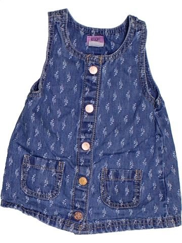 Vestido niña F&F azul 6 meses verano #1302342_1