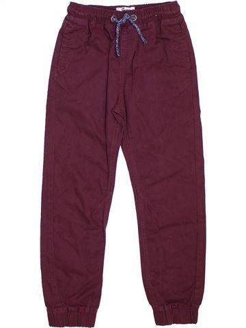 Pantalon garçon BOYS violet 9 ans hiver #1302396_1