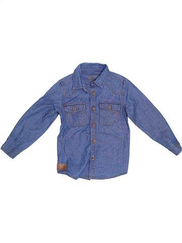 Chemise manches longues garçon PRIMARK bleu 4 ans hiver #1302432_1