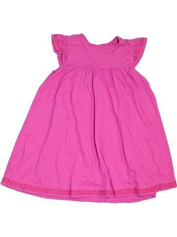 Vestido niña MARKS & SPENCER rosa 7 años verano #1302475_1
