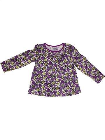 T-shirt manches longues fille OSH KOCH B'GOSH gris 4 ans hiver #1302488_1