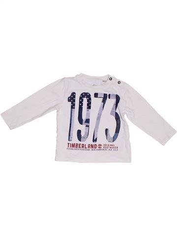 Camiseta de manga larga niño TIMBERLAND blanco 3 años invierno #1302511_1