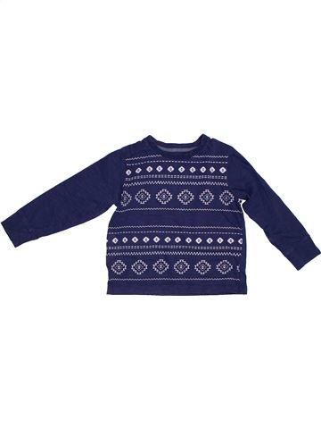 Camiseta de manga larga niño BOYS azul 4 años invierno #1302519_1
