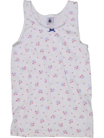 T-shirt sans manches fille PETIT BATEAU gris 8 ans été #1302554_1