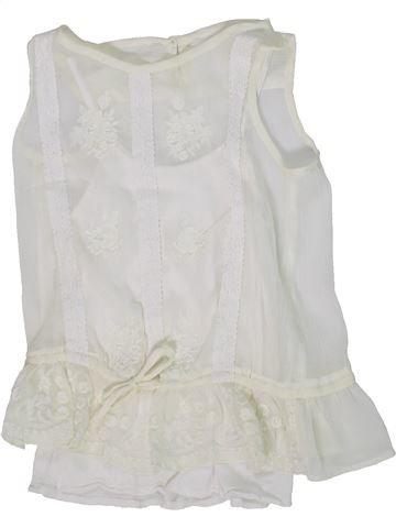 Blusa de manga corta niña DUNNES STORES blanco 7 años verano #1302558_1