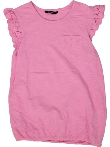 Camiseta de manga corta niña GEORGE rosa 10 años verano #1302579_1
