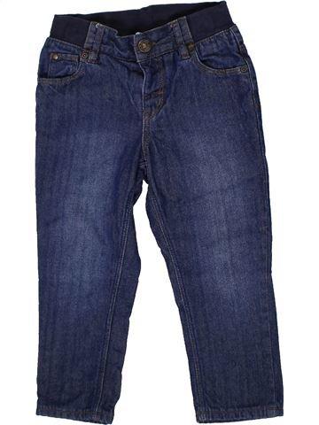 Pantalon garçon H&M bleu 2 ans hiver #1302627_1