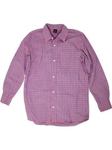 Chemise manches longues garçon GAP violet 13 ans hiver #1302726_1
