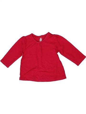 Camiseta de manga larga niña GEORGE rojo 6 meses invierno #1302750_1