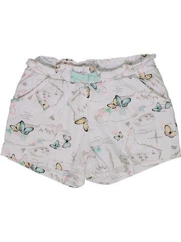 Short-Bermudas niña H&M blanco 6 años verano #1302777_1