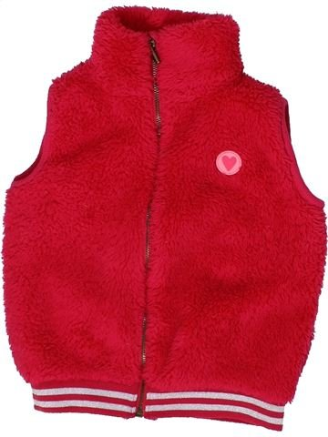 Gilet fille HEMA rouge 4 ans hiver #1302783_1