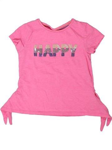 Camiseta de manga corta niña F&F rosa 2 años verano #1302833_1
