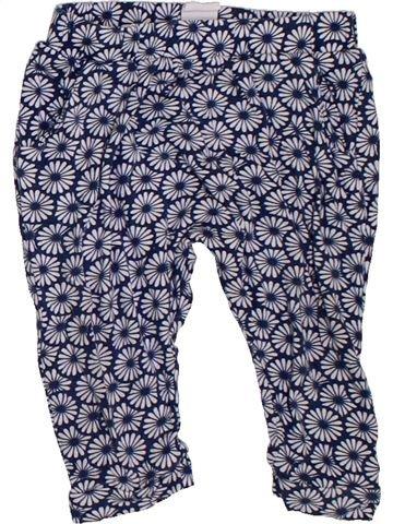 Pantalón niña H&M azul 12 meses verano #1302899_1