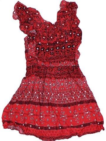 Robe fille TU rouge 4 ans été #1302902_1