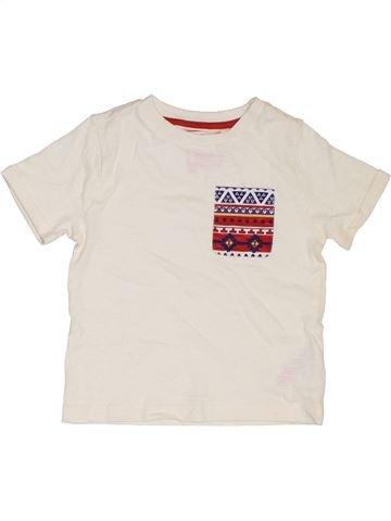 Camiseta de manga corta niño F&F blanco 3 años verano #1302931_1