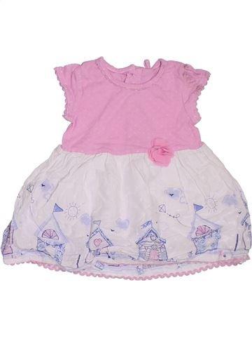 Vestido niña TU rosa 6 meses verano #1302942_1