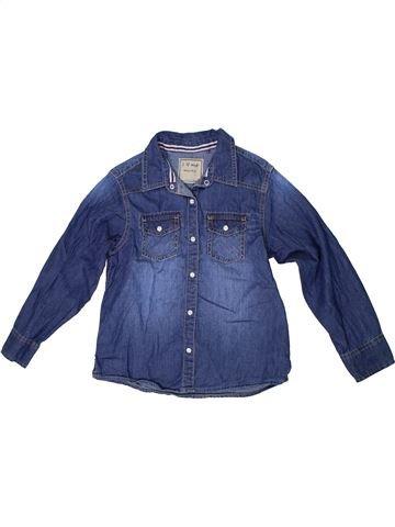Chemise manches longues garçon NEXT bleu 7 ans hiver #1303020_1