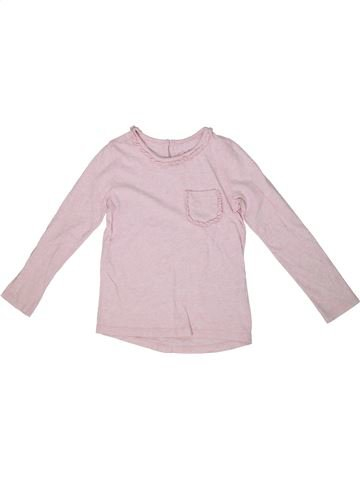 T-shirt manches longues fille BODEN rose 7 ans hiver #1303029_1