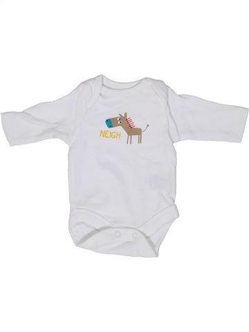 T-shirt manches longues garçon MOTHERCARE blanc prématuré hiver #1303088_1
