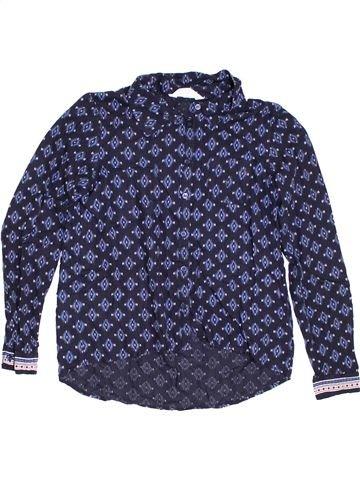 Chemise manches longues garçon H&M bleu 14 ans hiver #1303204_1