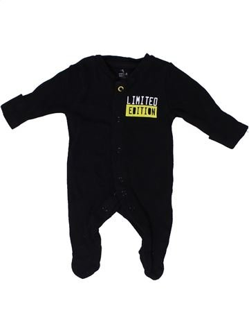 Pyjama 1 pièce unisexe PRIMARK noir naissance été #1303322_1