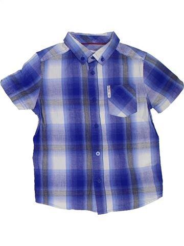 Chemise manches courtes garçon BEN SHERMAN violet 5 ans été #1303700_1