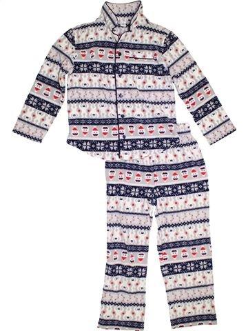 Pijama de 2 piezas niño GAP blanco 8 años invierno #1303746_1