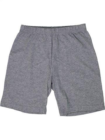 Short - Bermuda garçon F&F gris 8 ans été #1303845_1