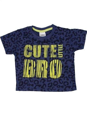 T-shirt manches courtes garçon BABY bleu 2 ans été #1303880_1