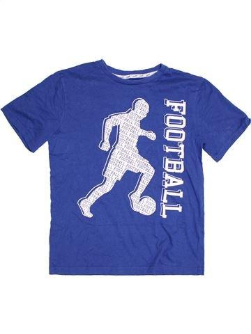 T-shirt manches courtes garçon PRIMARK bleu 13 ans été #1303989_1