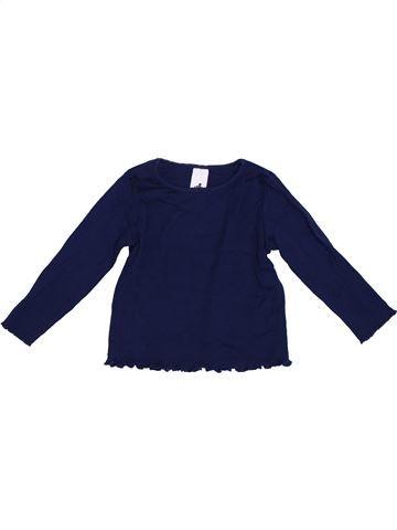 T-shirt manches longues fille C&A violet 4 ans hiver #1304270_1