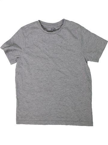 Camiseta de manga corta niño F&F gris 9 años verano #1304299_1